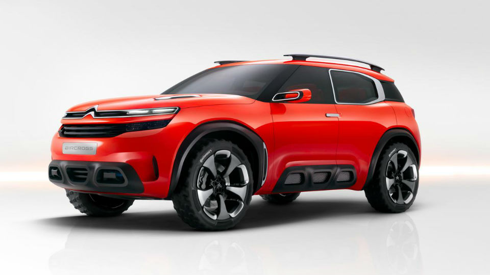 Citroen намекнул концептом Aircross на новую линейку кроссоверов
