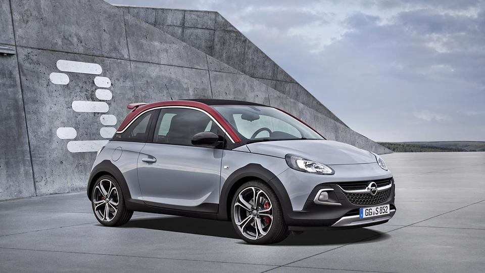 Opel «зарядил» вседорожный хэтчбек Adam