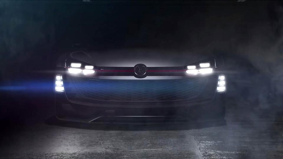 Volkswagen показал часть второго концепта для игры Gran Turismo