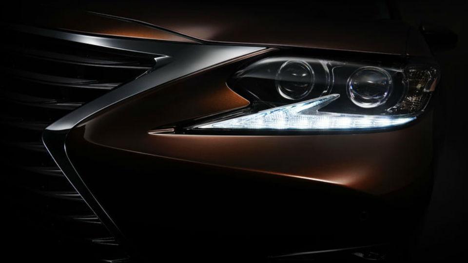 Lexus обновит седан ES к Шанхайскому автосалону