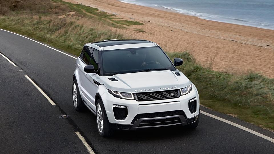 Новый Range Rover построят на удлиненной базе кросcовера Jaguar