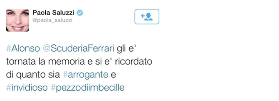 Журналист итальянского Sky назвала гонщика «кускомимбецила»