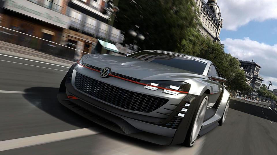 Volkswagen представил экстремальный хэтчбек для игры Gran Turismo