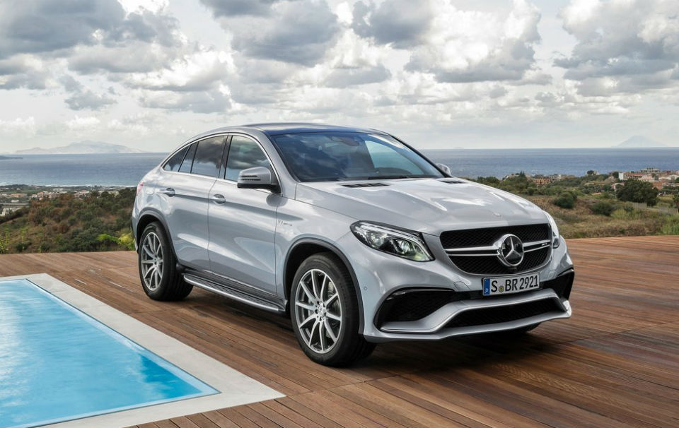 Стали известны цены на кроссовер Mercedes-Benz GLE Coupe