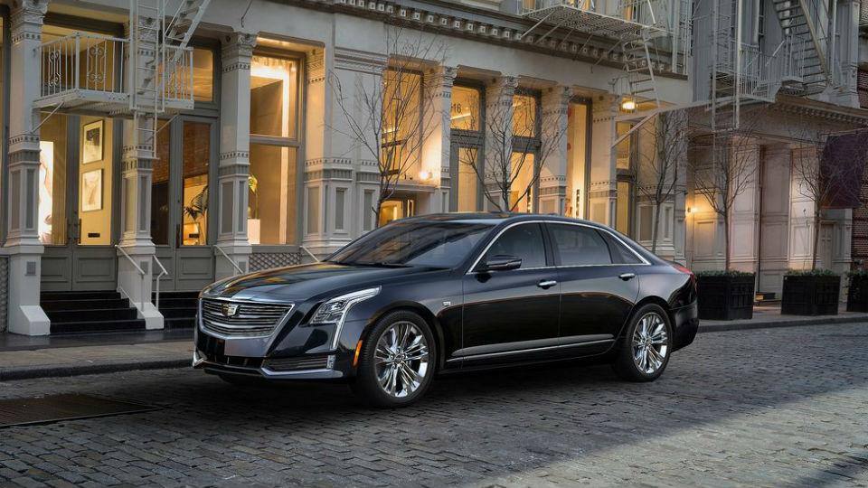 Первый экземпляр нового флагмана Cadillac продадут на аукционе