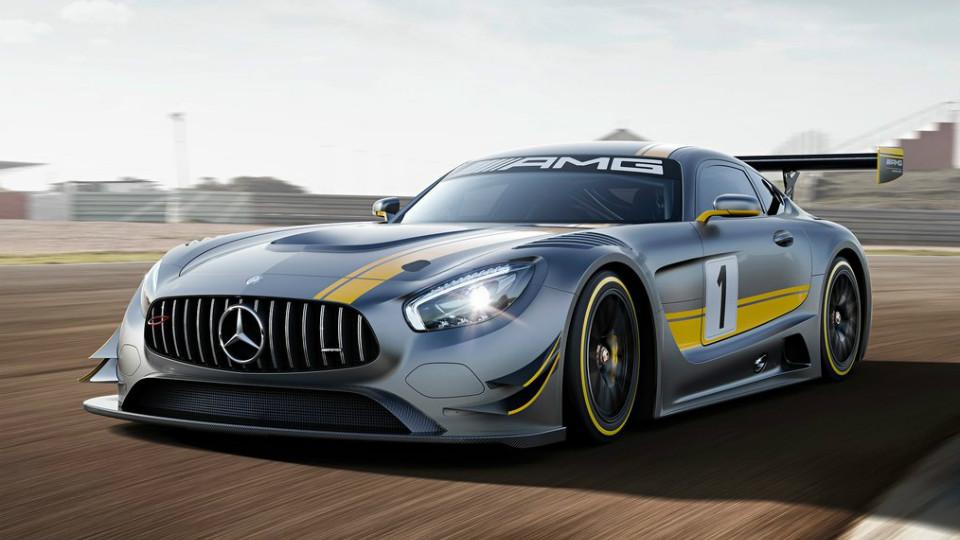 Немцы начали готовить к соревнованиям купе Mercedes-AMG GT3