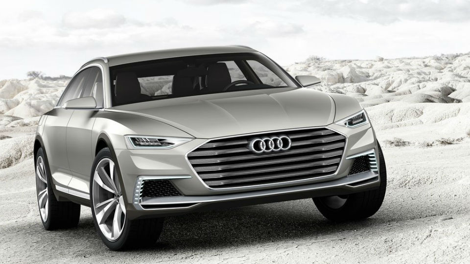 Прототип Audi prologue стал 734-сильным вседорожником