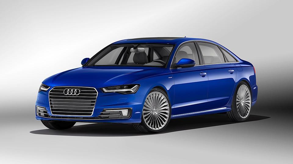 Audi сделала специально для китайцев удлиненный гибрид A6