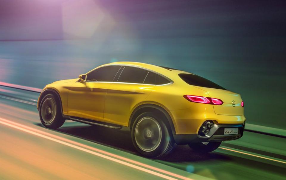 На моторшоу в Шанхае дебютирует концепт-кар Mercedes-Benz GLC Coupe