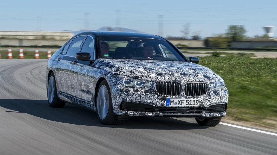 Компания BMW рассказала о новой «семерке»