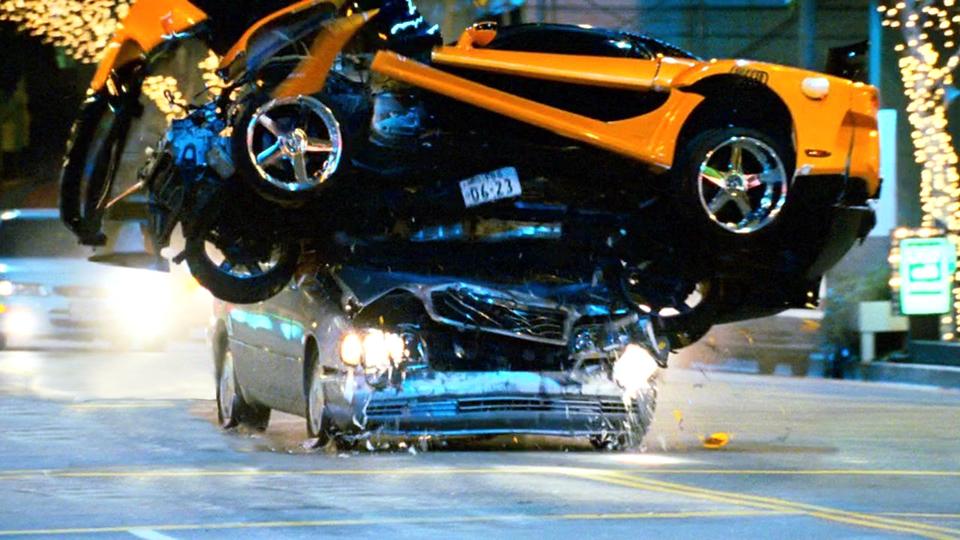 Сто аварий из шести «Форсажей» объединили в трехминутное видео