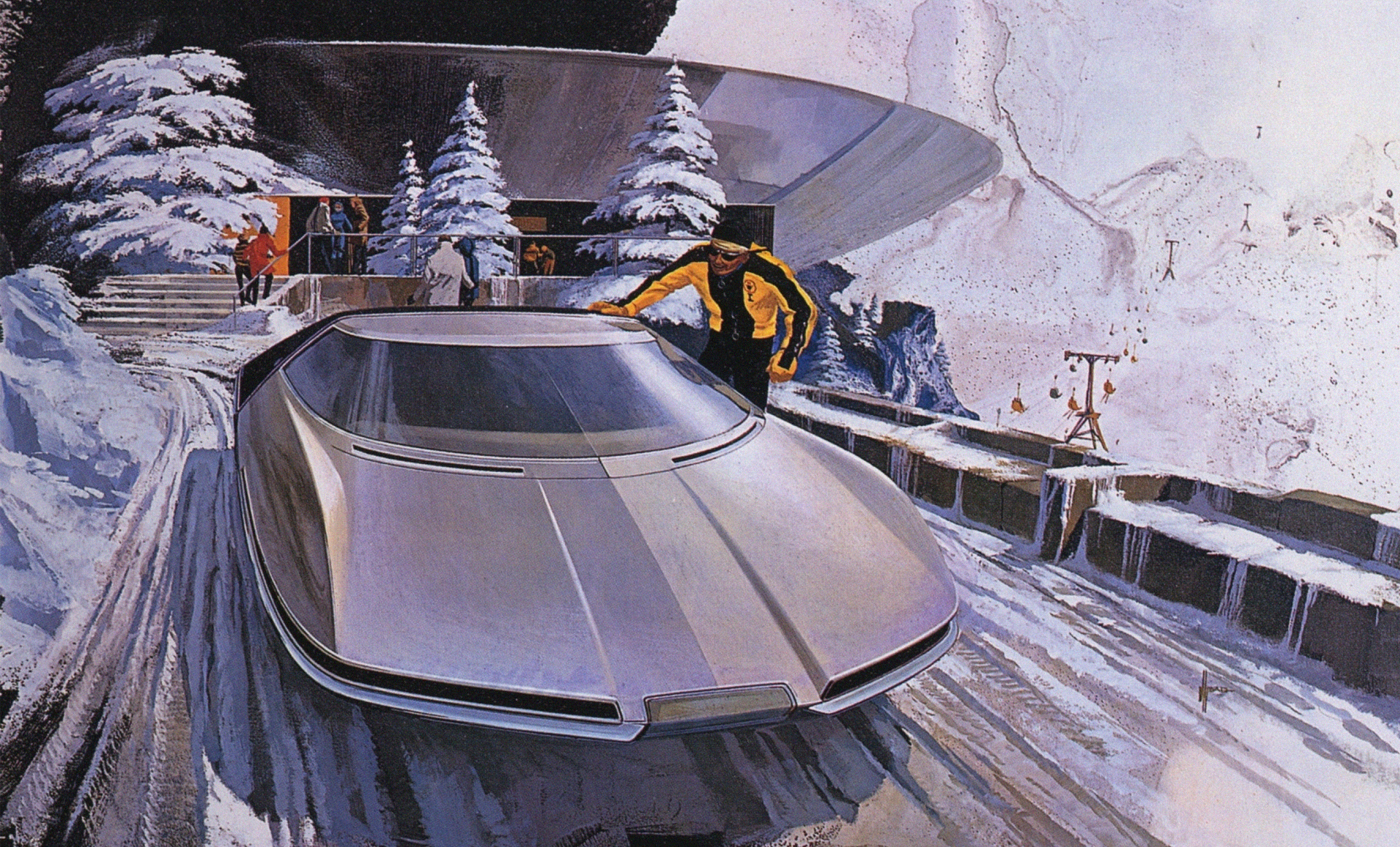 Кино, автопилот и батарейки: какими будут автомобили через 10-20 лет?. Фото 16
