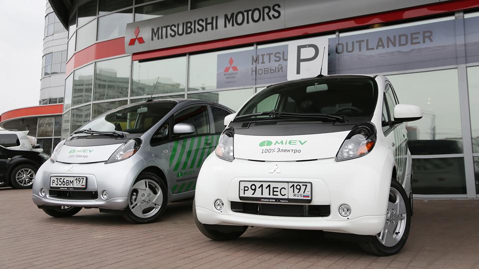 Электрокары Mitsubishi i-MiEV стали московскими «Парконами»