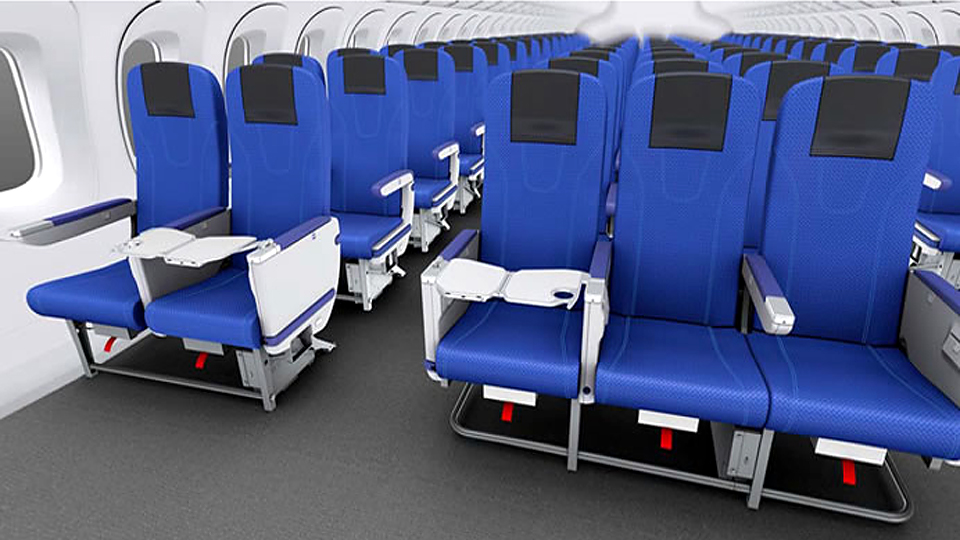 «Тойота» впервые разработала самолетное кресло