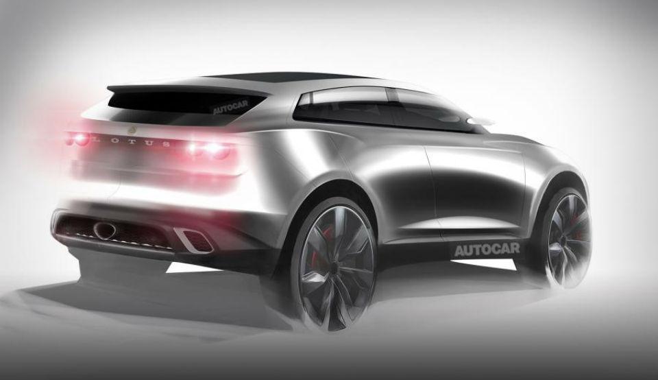Выпуск первого вседорожника Lotus начнется в Китае в 2019 году