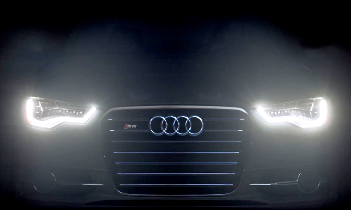 Audi анонсировала появление матрично-лазерных фар