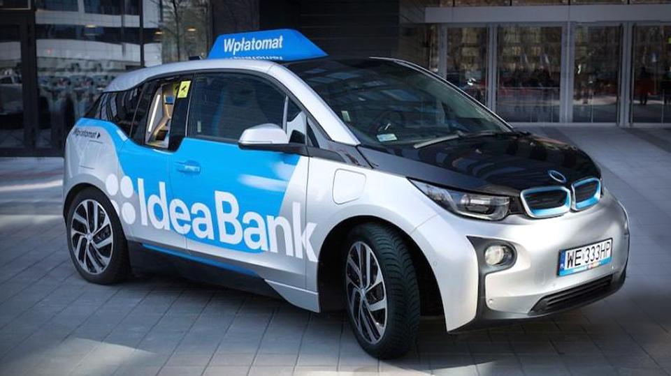 Электрокар BMW i3 превратили в банкомат по вызову