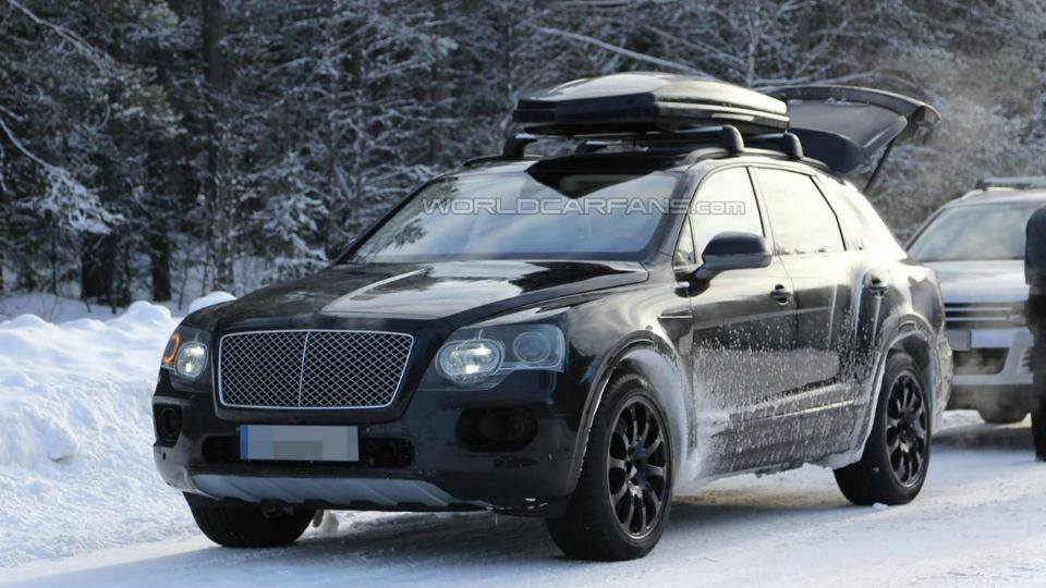 В Bentley намекнули на кроссовер размером с BMW X6