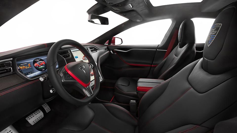 Компания LARTE Design анонсировала «заряженный» седан Model S. Фото 1