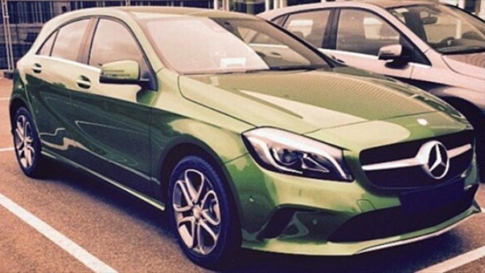 Обновленный Mercedes-Benz A-Class сфотографировали без камуфляжа