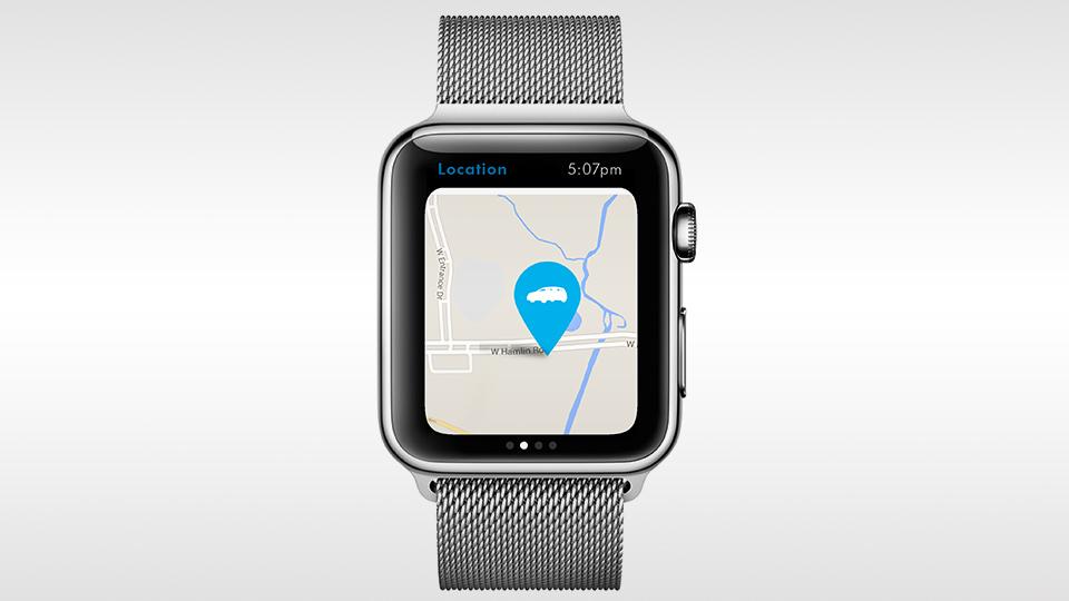 VW запустил приложение для часов Apple