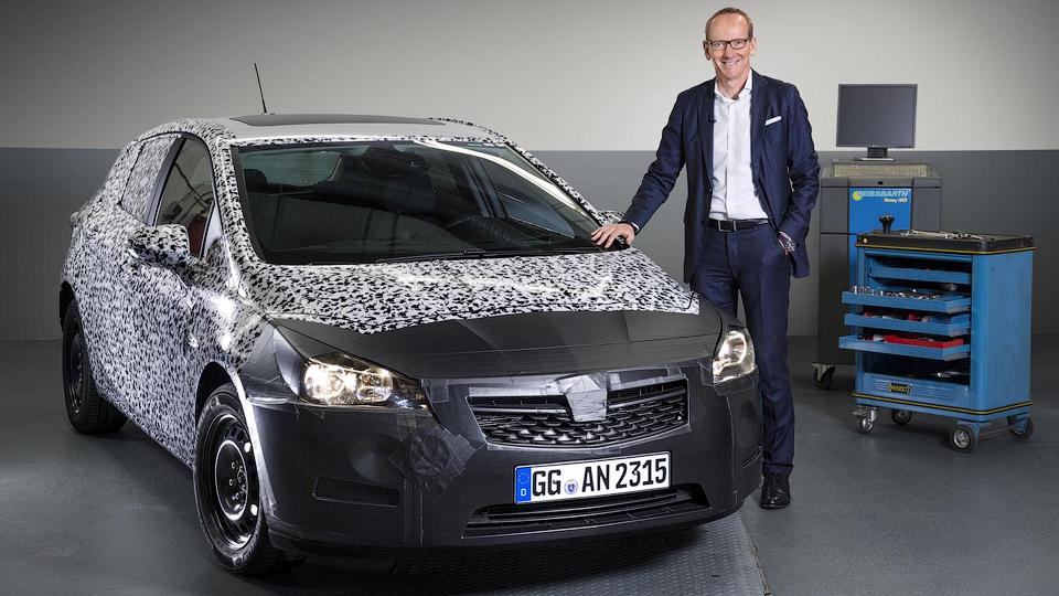 Новая Opel Astra станет легче на 200 килограммов
