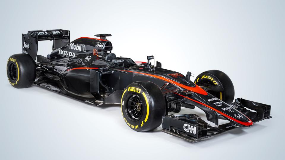 «Макларен» перекрасил болид Формулы-1