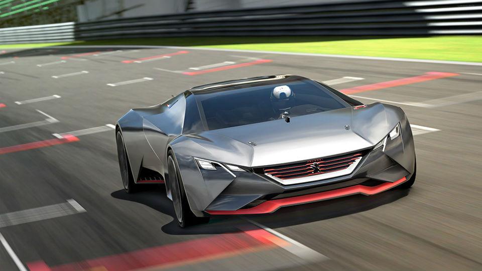Виртуальный суперкар Peugeot наберет «сотню» за 1,7 секунды