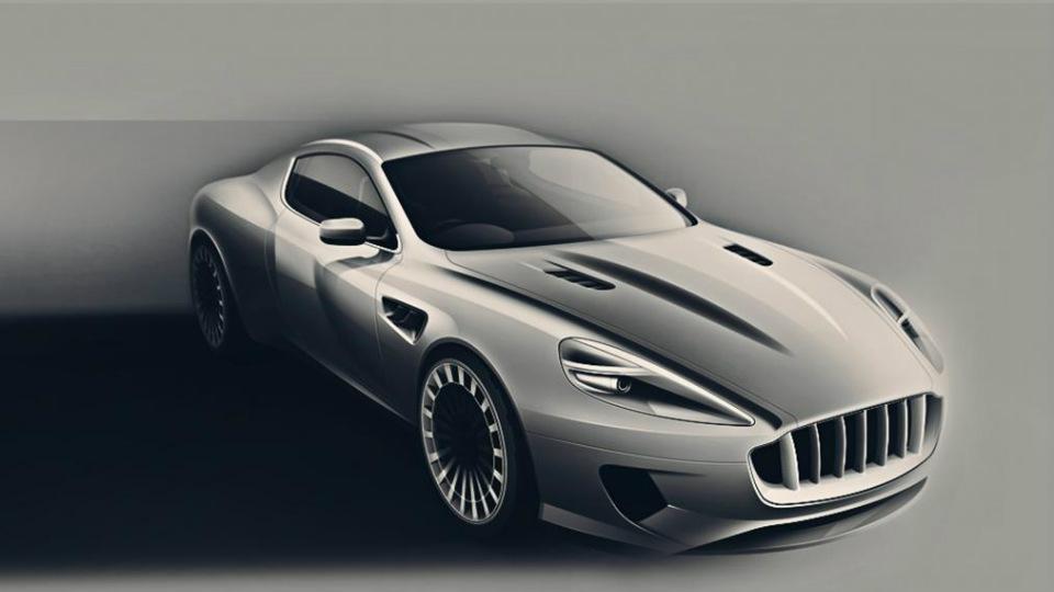 Aston Martin DB9 превратят в «саблезубую кошку»