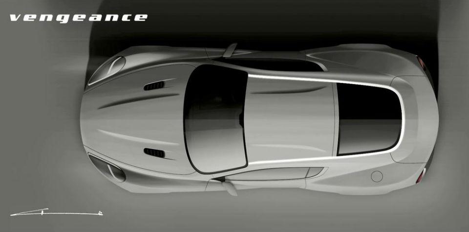 Британские тюнеры построят эксклюзивный спорткар с алюминиевым кузовом . Фото 1