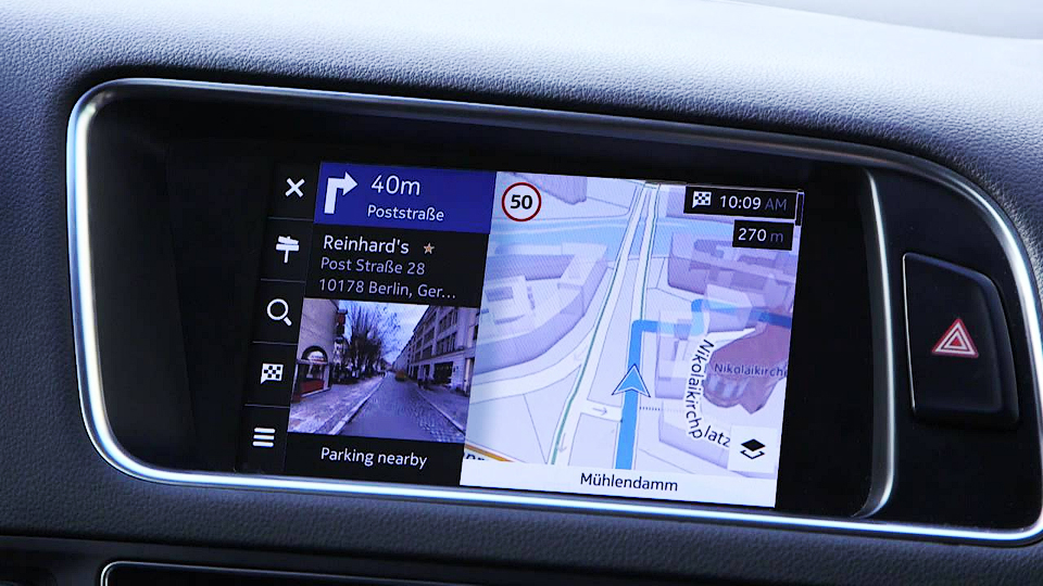 BMW, Audi и Mercedes-Benz купят картографический сервис Nokia