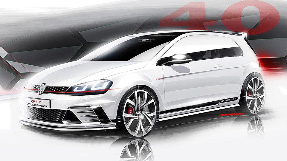 Volkswagen привезет на фестиваль Wörthersee особый Golf GTI
