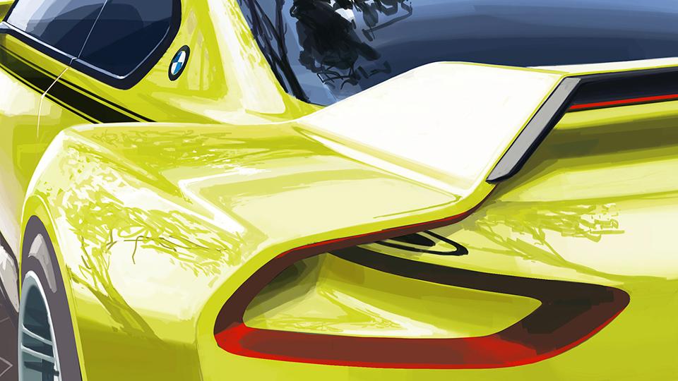 BMW посвятит новый концепт-кар купе 1970-х