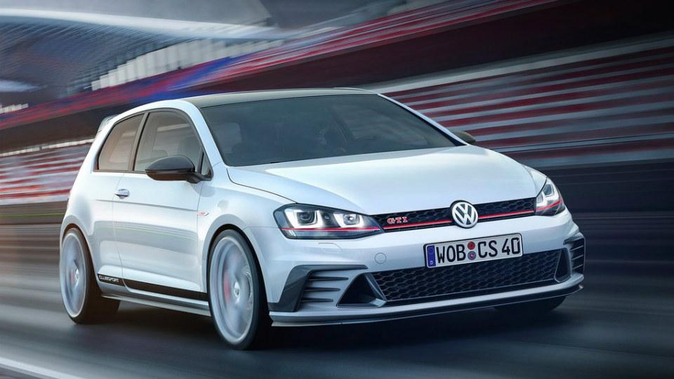 Volkswagen запустит в серию 265-сильный Golf GTI