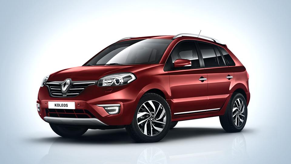 Компания Renault привезла в Россию переднеприводный Koleos