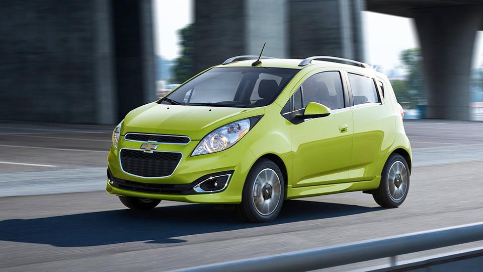 Chevrolet отзовет в России 346 «Спарков»