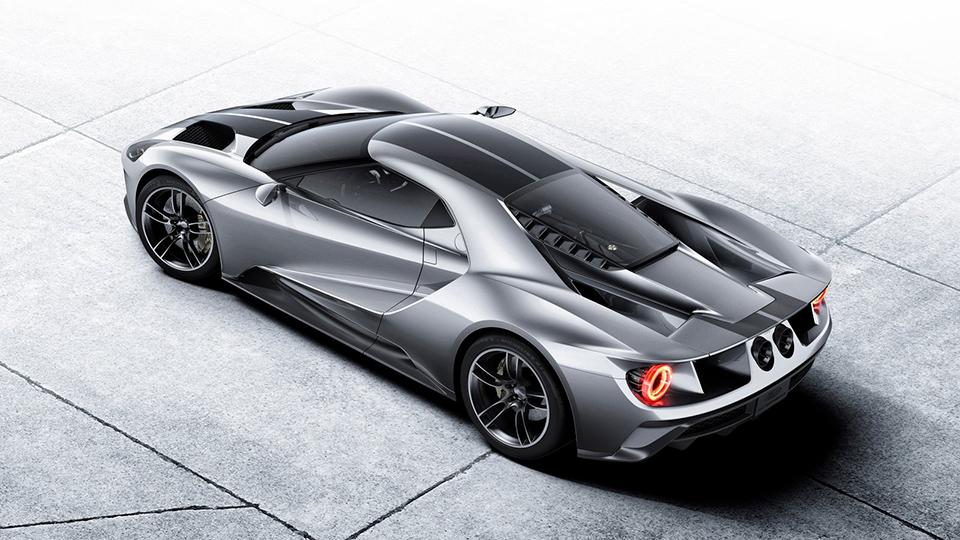 Ford GT получит 700-сильный мотор