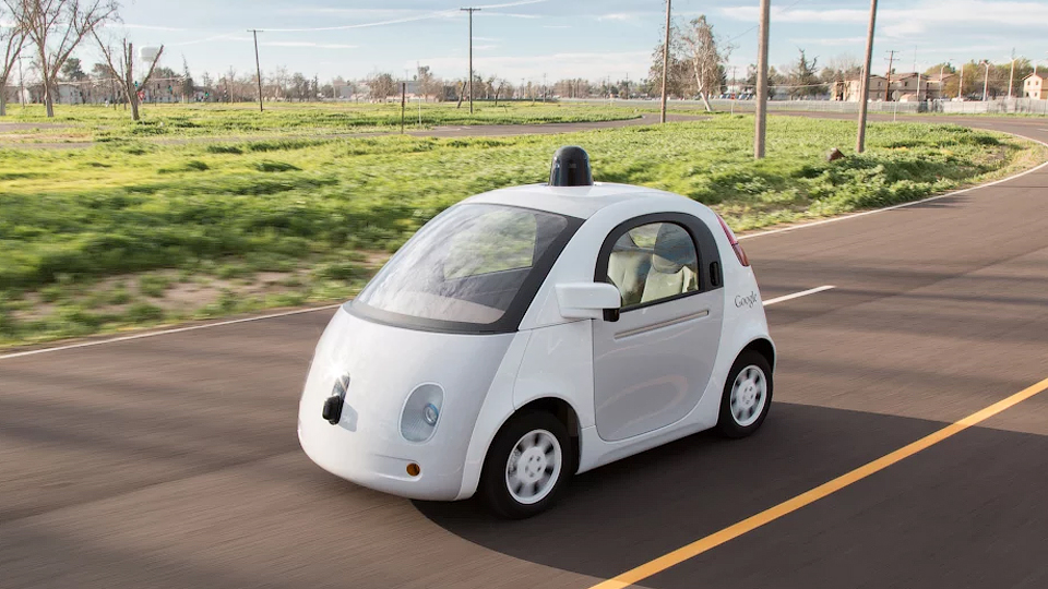 «Гуглмобилям» разрешили ездить по городским улицам