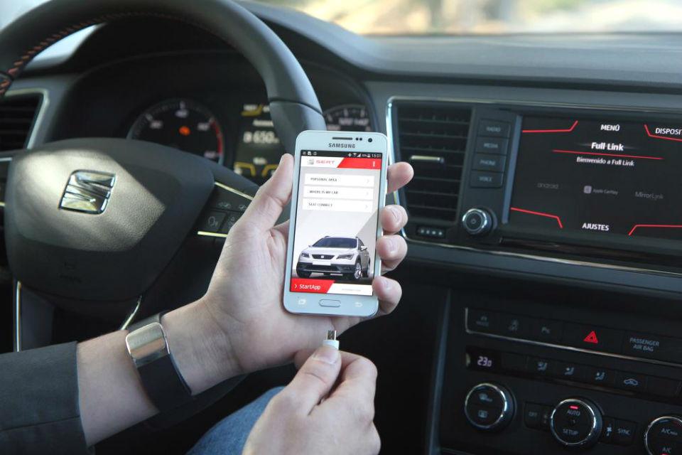 Мобильный телефон Samsung предложат вместе с обновленной «Ибицой»