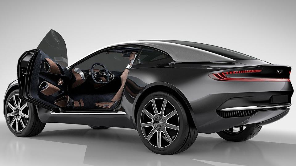Aston Martin отказался от «мерседесовского» шасси для кроссовера