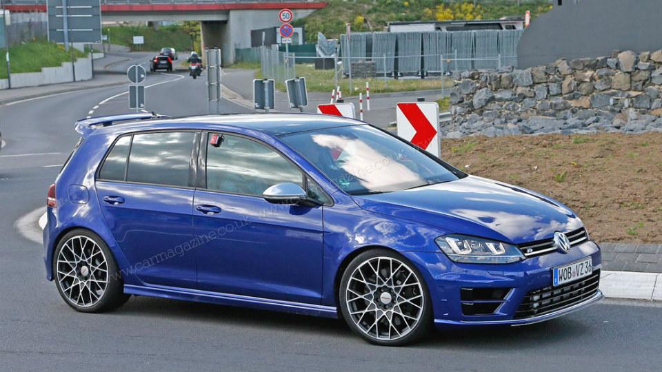 Самый мощный Volkswagen Golf вывели на Нюрбургринг
