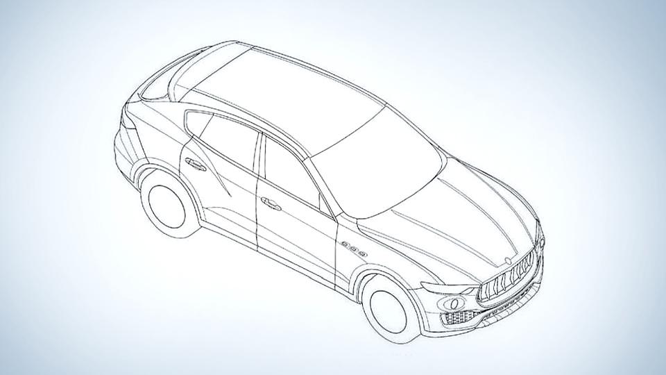 Компания Maserati изменила дизайн будущего вcедорожника