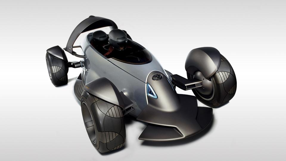 Toyota сделает трехместный спорткар с открытыми колесами
