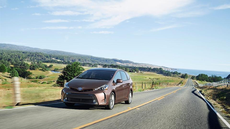 В США из гибрида Toyota Prius украли блок батарей