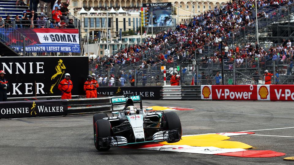 Хэмилтон впервые выиграл квалификацию в Монако