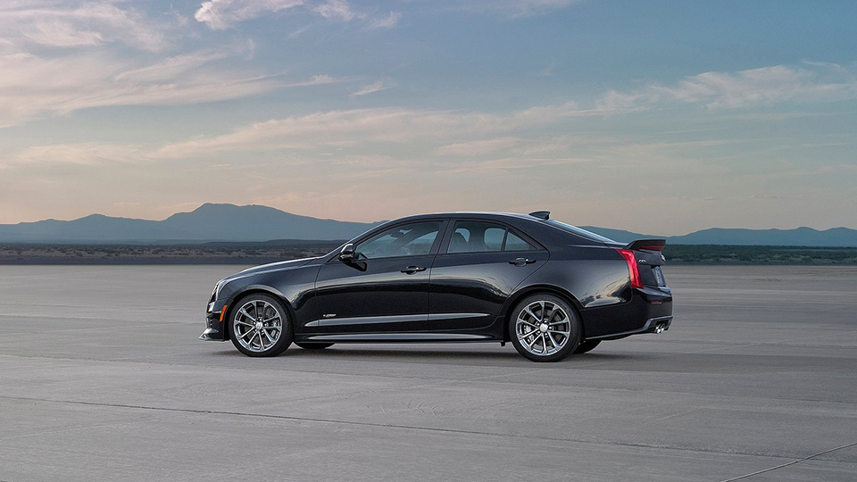 Самый маленький седан Cadillac получит семилитровый мотор