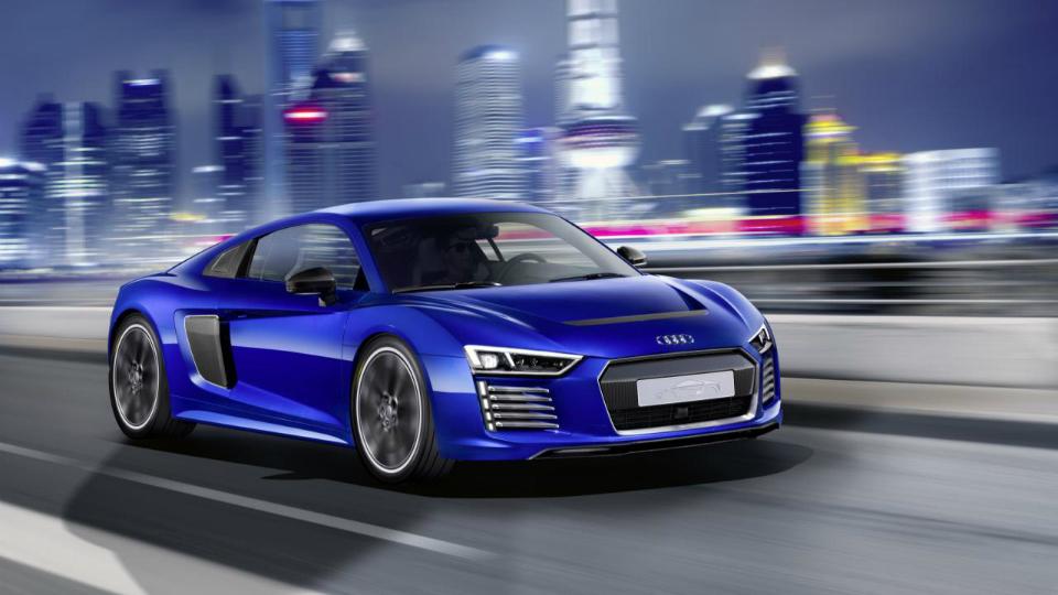 Компания Audi построила электрический суперкар с автопилотом