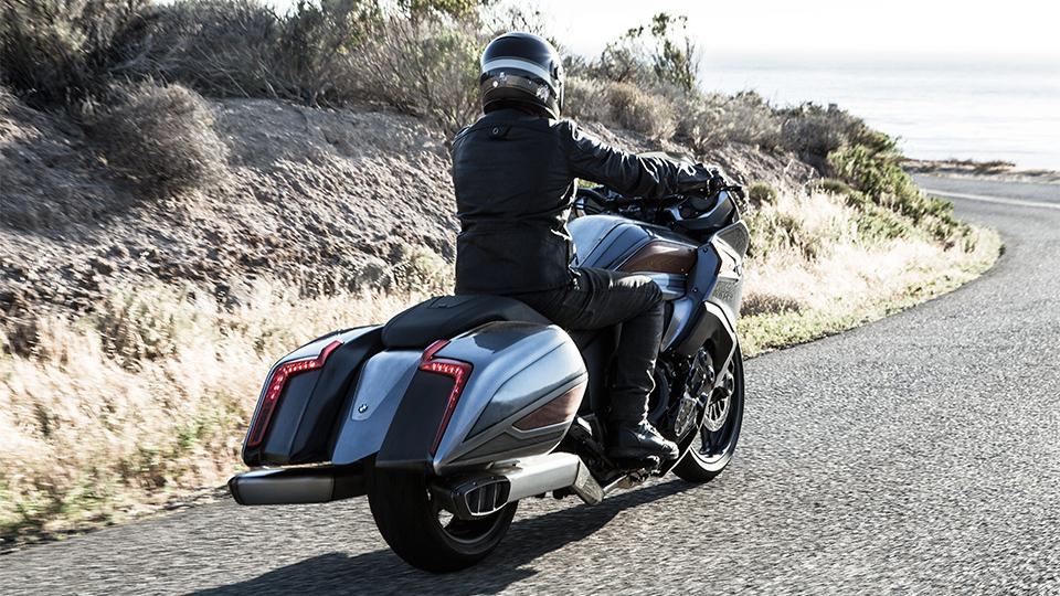 Немцы представили концептуальный мотоцикл Concept 101