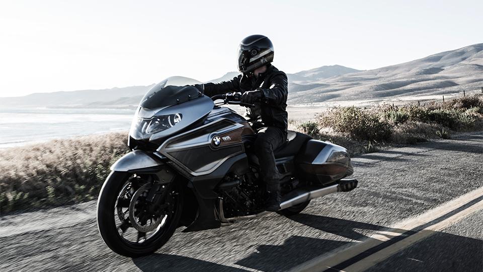 Немцы представили концептуальный мотоцикл Concept 101. Фото 1