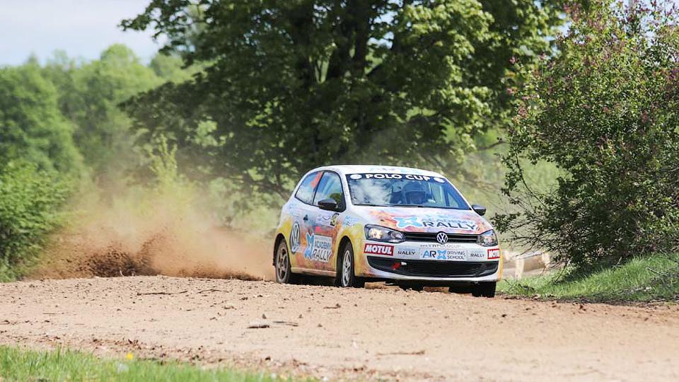 Второй этап Volkswagen Polo Cup выиграл дебютант